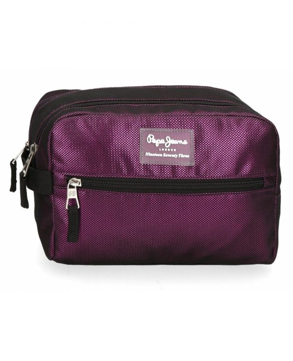 neceser-lily-pepe-jeans-morado-6194421-24cm NECESER PEPE JEANS ALICESS