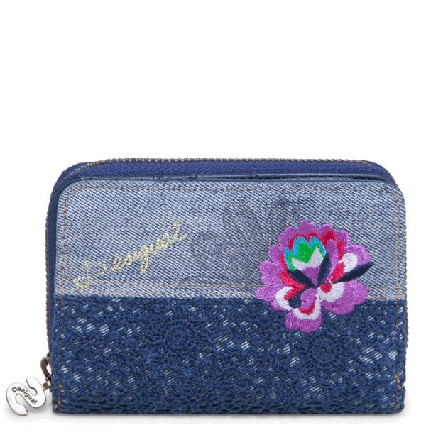 A MONEDERO MAGNETIC EXOTIC JEANS DESIGUAL ALICESS