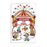 10325 tarjeta invitacion de cumpleaños alicess